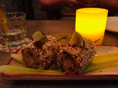 The Loco Group, A Mexican Food and Craft Beer Paradise - Elotes (Vegetarian) ($7)