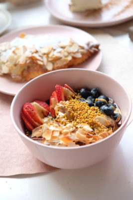 Carrotsticks and Cravings At Loewen Garden With Al Fresco Dinning Only - Açai Berry Bowl ($14)