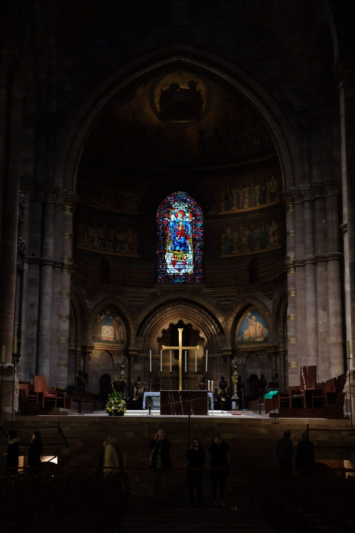Strasbourg Travel, Must See & Do, Must Eat in 28 Hours - Altar of Cathédrale Notre Dame de Strasbourg
