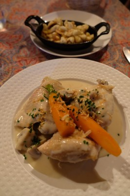 Chez Yvonne Strasbourg, A Long Established With Michelin Plate Award - Coq Au Riesling, spaetzle (€14.30)