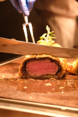 The Carvery's Festive Forest Feast At Park Hotel Alexandra - Beef Wellington