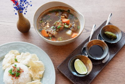 Fat Chap Serving Nostalgia Asian Dishes - Oxtail Soup (S$ 20)