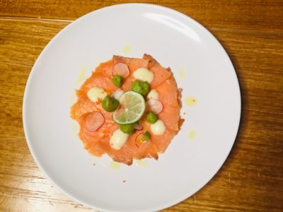 """Wild Market Goes """"Wild"""" with Exciting Multiroom Concept and Delectable Delights - Smoked salmon Guacamole ($11.80)"""