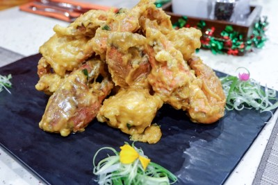 Auspicious Feasts At Ginger @ ParkRoyal on Beach Road - Salted Egg Crab