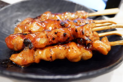 One Sushi Christmas Exclusives On The Menu - Chicken Yakitori ($9.80/6 pcs)