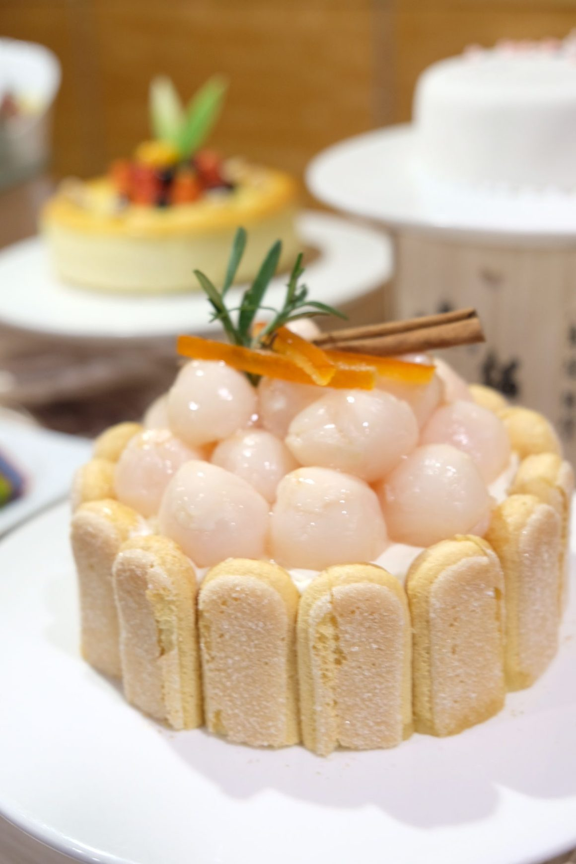 Best restaurants For Your Chinese New Year 2019 Reunion Dinner In Singapore - Amara Singapore, Lychee Cake