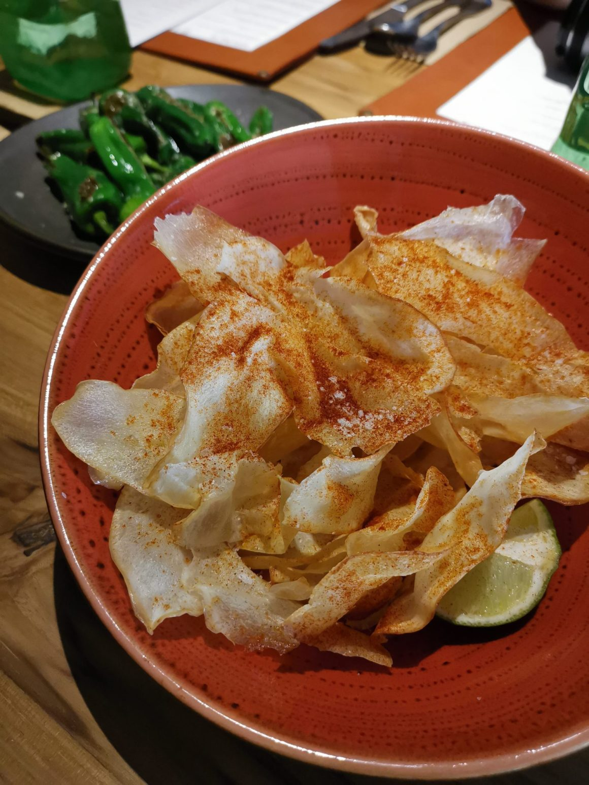 Kafe Utu, First Afro Cafe & Lounge In Singapore - Fresh Cassava Chips ($12)