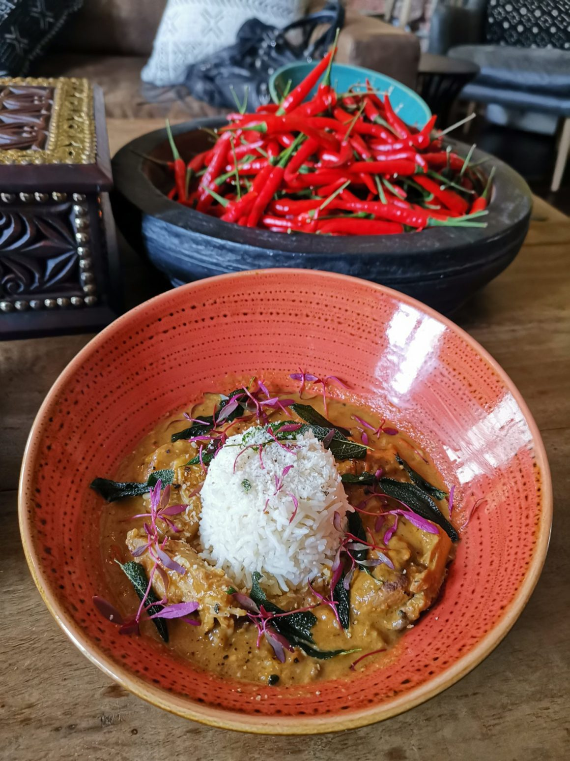 Kafe Utu, First Afro Cafe & Lounge In Singapore - Liberian Peanut Chicken Stew ($28)