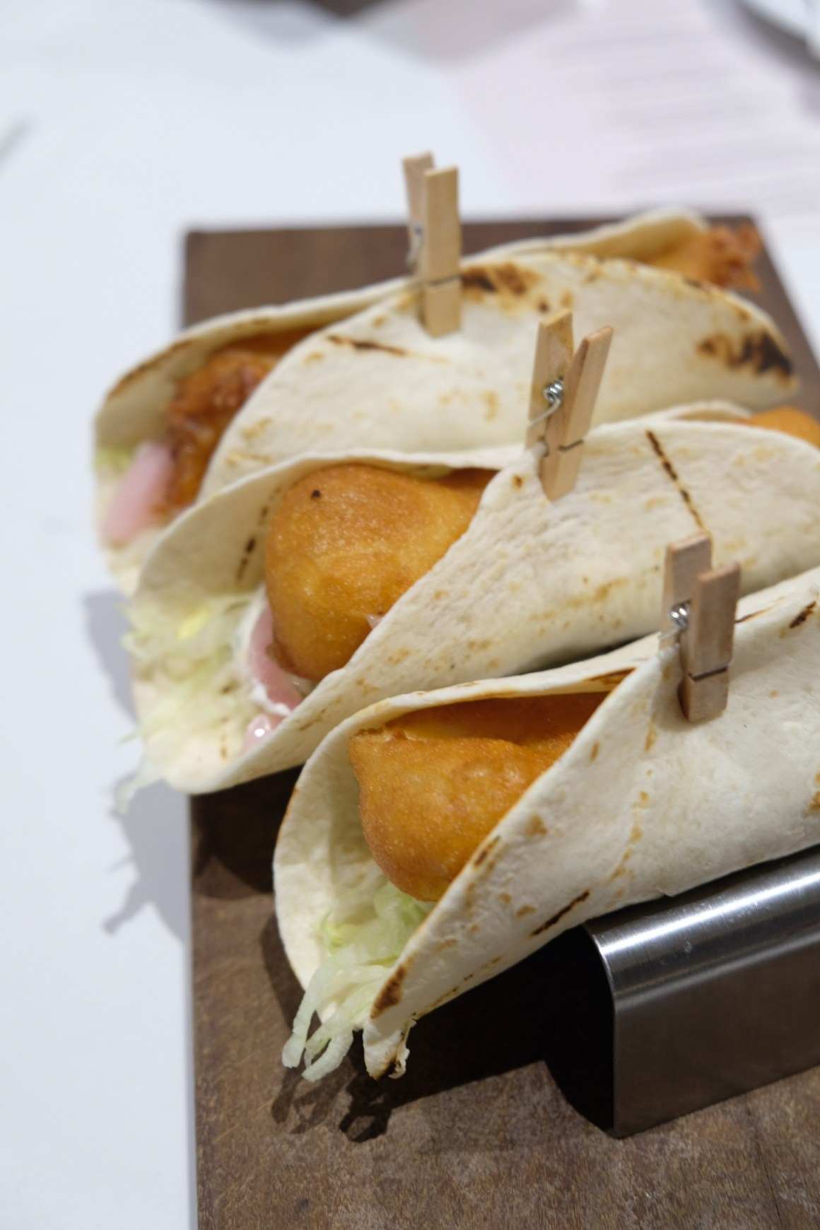 Tasty Taco And Mount-Garita At Crossroad Cafe, Singapore Marriott - Beer Battered Cod Fish