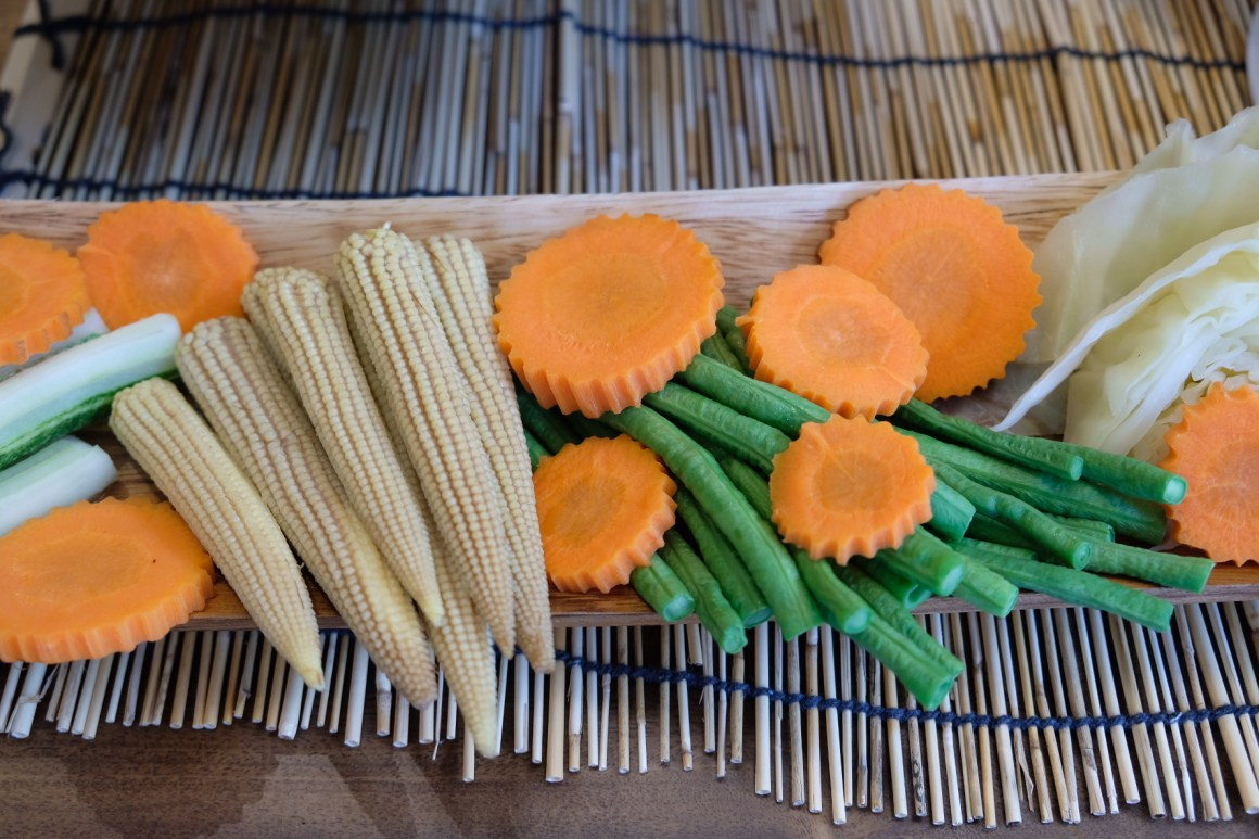 The Great Baan Ying Brunch On Weekends - Blanched Vegetable