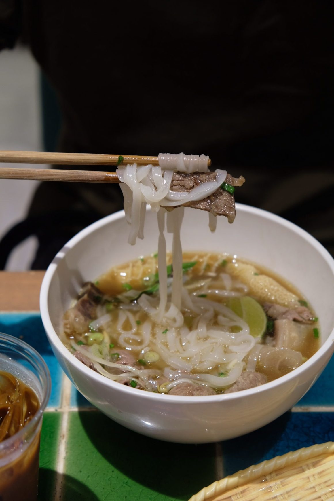 Caption First-Ever Pho Day By Pho Street Going At SGD 0.60 per bowl - Noodle-pulling, Signature Pho Beef Combination