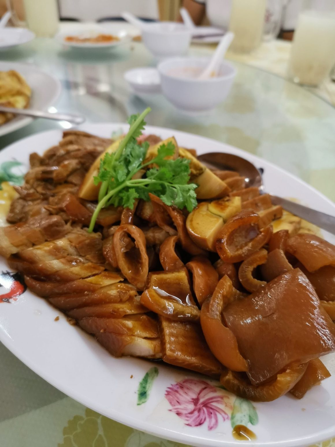 Sin Chao Gardens Teochew Porridge At River Valley Road - Braised Platter