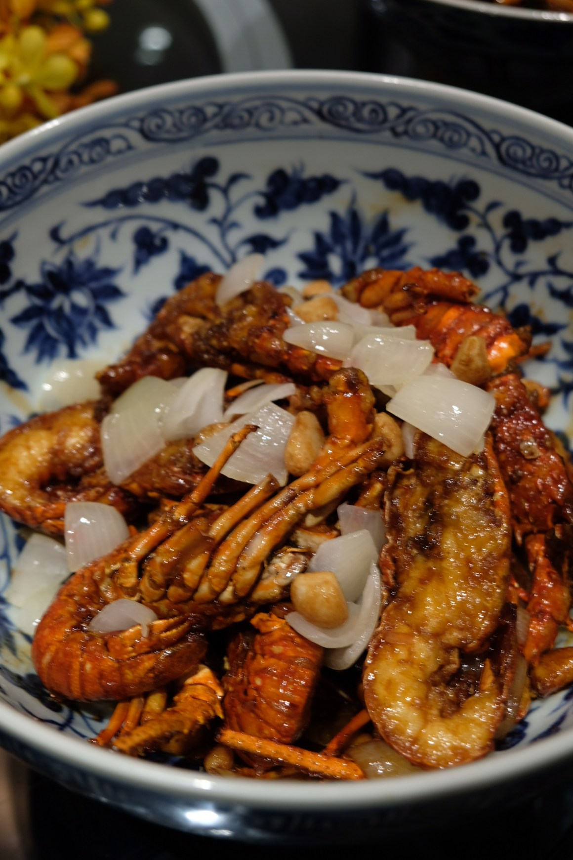 A Tale of Twin Baby Lobster At Si Chuan Dou Hua Restaurant @ PARKROYAL on Beach Road - Baby Lobster with Superior Soya Sauce