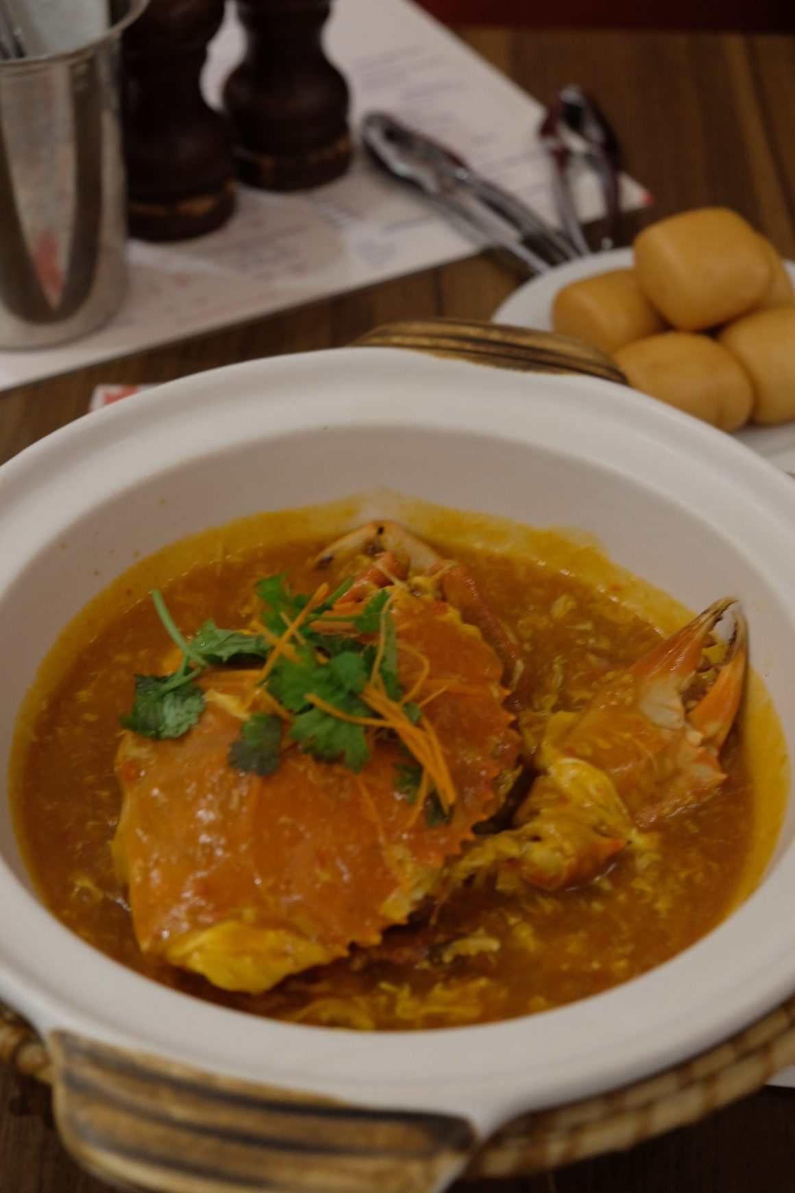 Brand New Crab Menu By Pince & Pints - Whole Chilli Crab