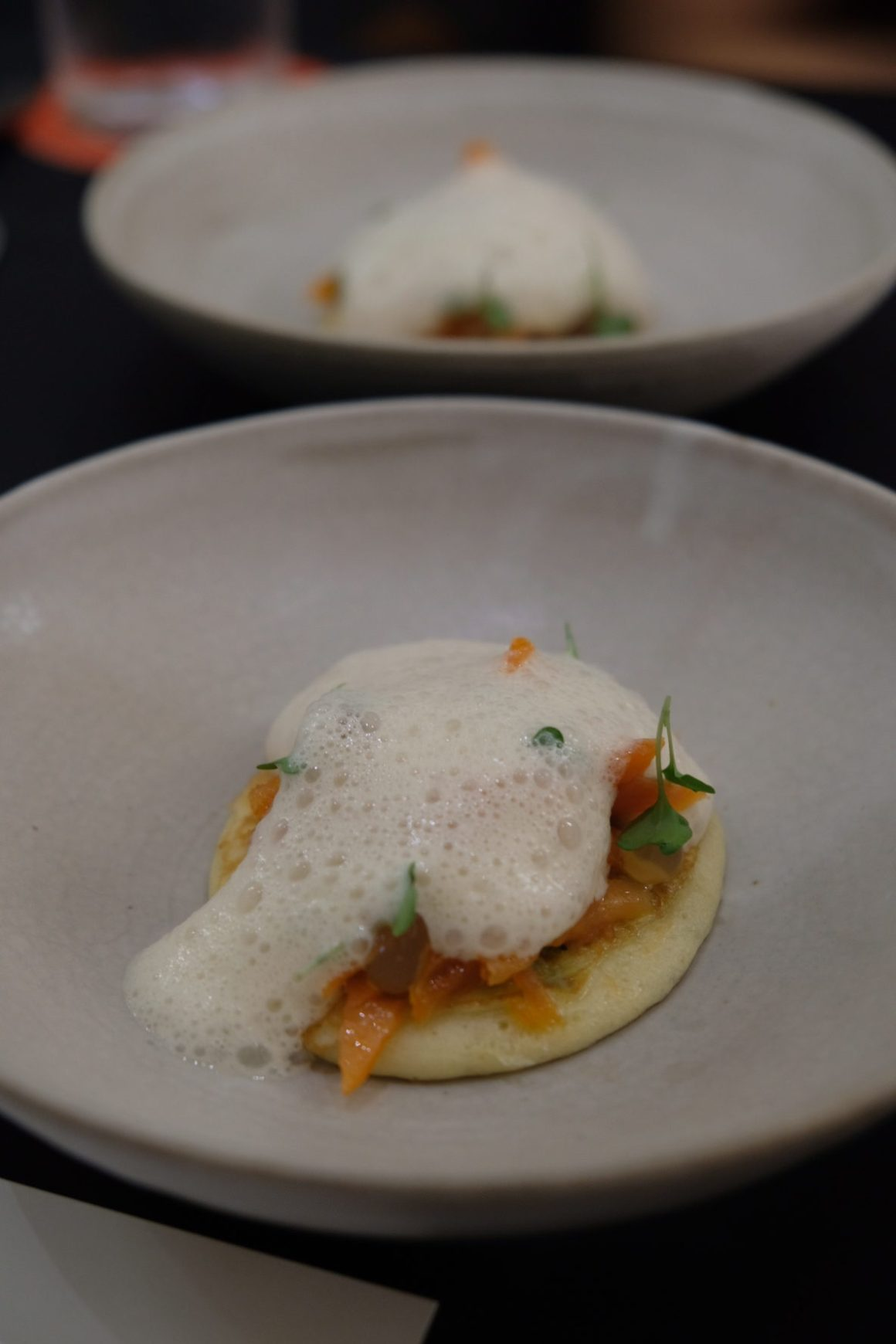 100 Gourment March 2019 Edition: Chef Aitor Jeronimo Orive x Visiting Chef Oldrich Sahajdak At Basque Kitchen By Aitor - Smoked Trout