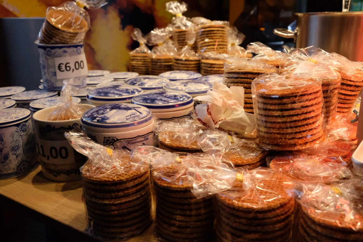 A Weekend At Rotterdam - Stroopwafel in Markthal
