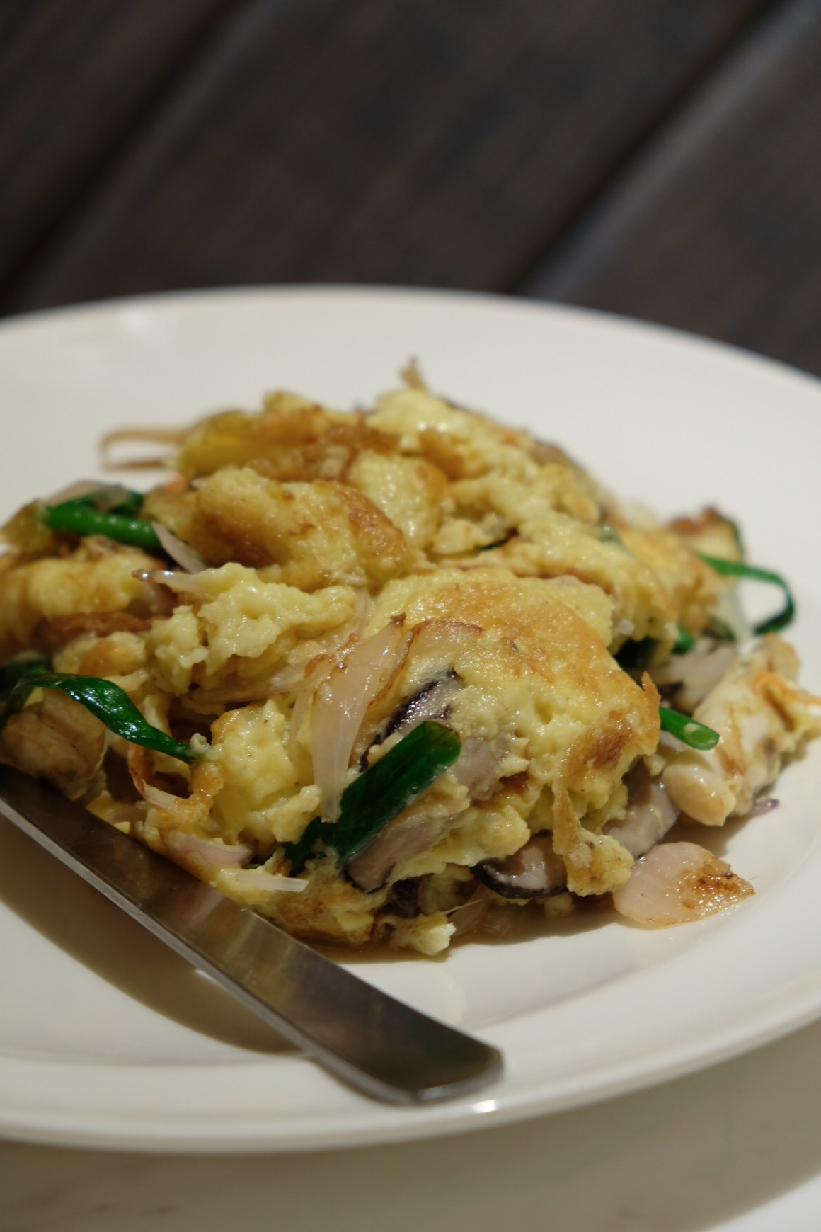 DUOTOU Clam Back At PUTIEN In 2019 - DUOTOU Clam Omelete 哆头蛏炒蛋