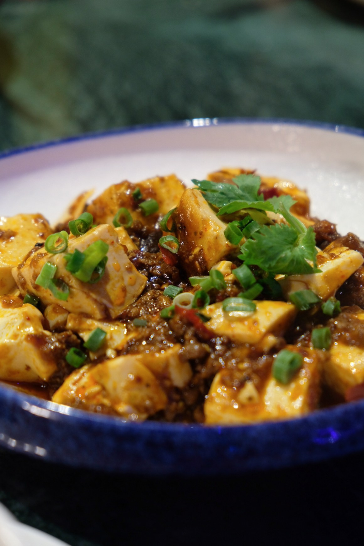 Shang Social 香聚 At Jewel Changi By Shangri-La Group - Mapo Tofu
