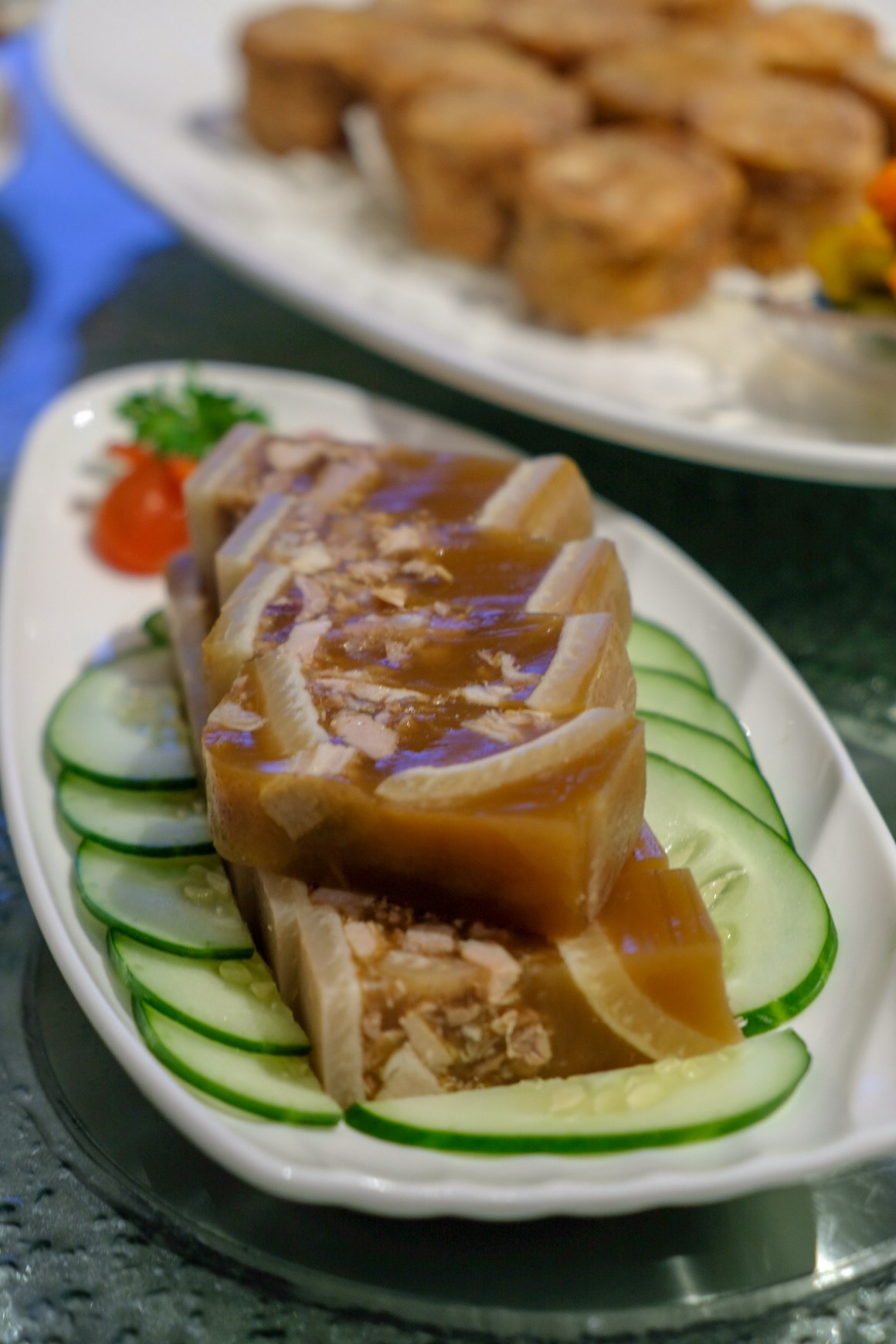 Zui Yu Xuan Teochew Restaurant At Far East Square - Pig Trotter Terrine ($13 per portion)