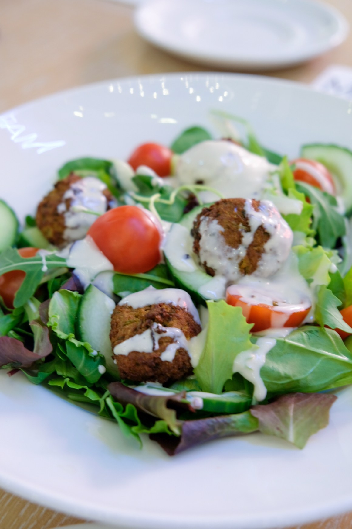 M&S Cafe New Menu Items - Sweet Potato Falafel Salad ($15)