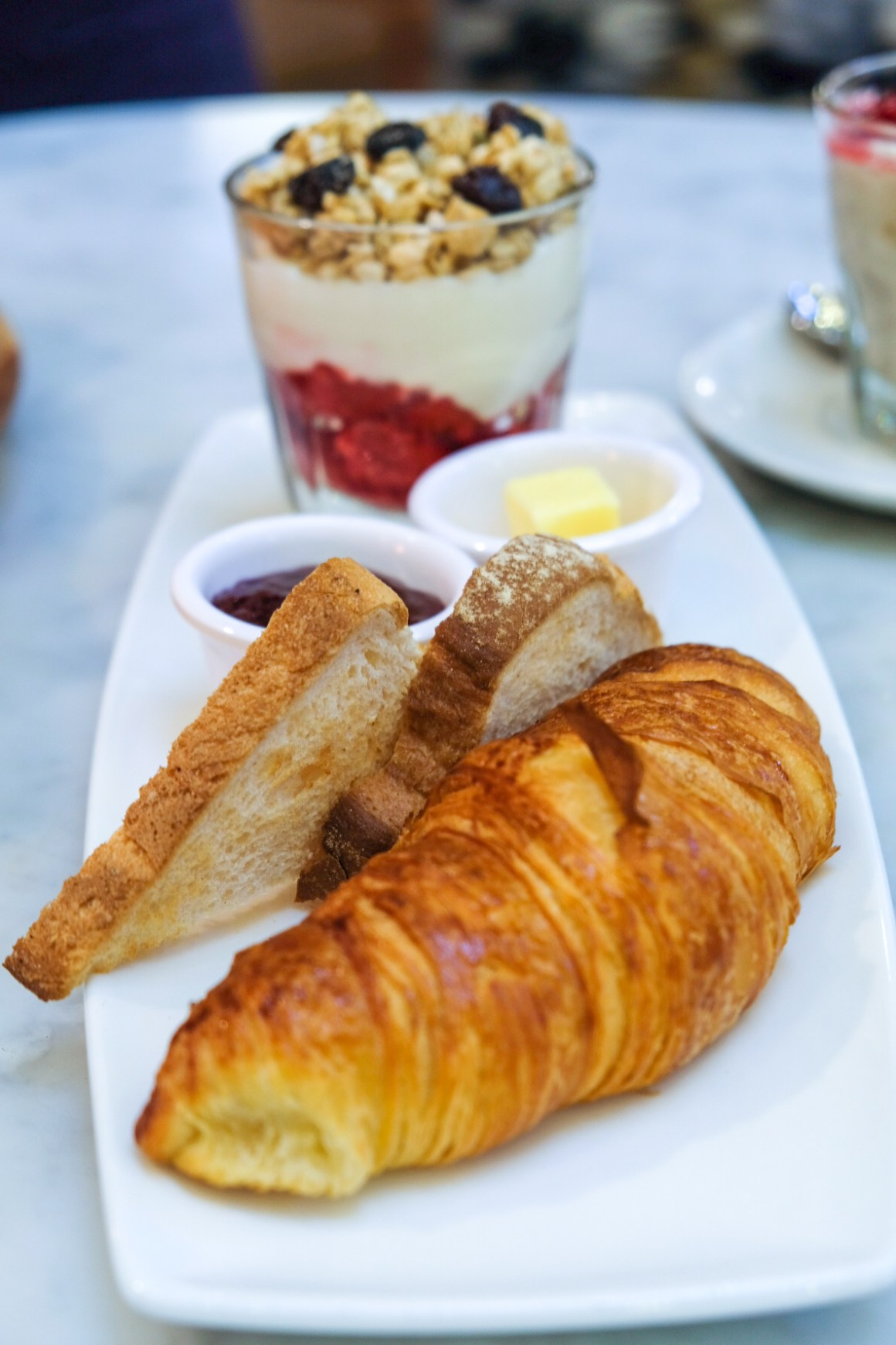M&S Cafe New Menu Items - Continental Breakfast for One ($18)