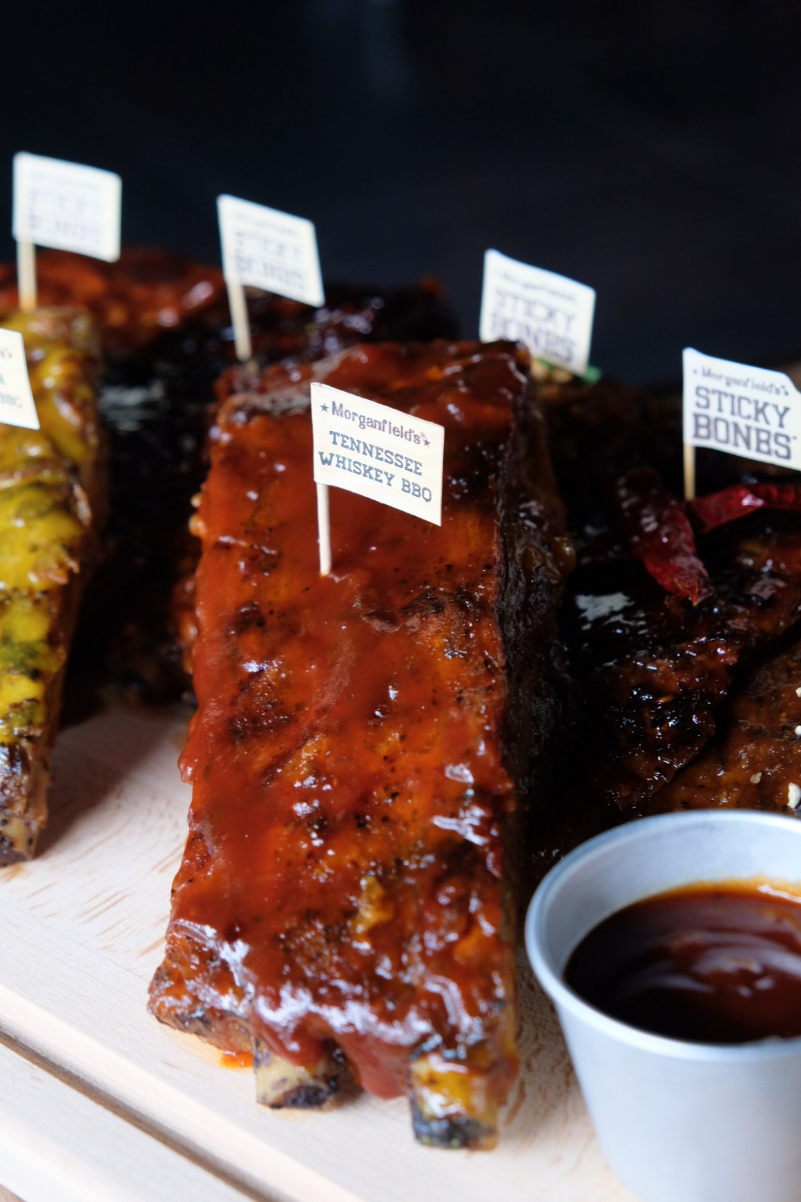 Morganfield's Two New Barbecue Rib Sauces - Tennessee Whiskey BBQ