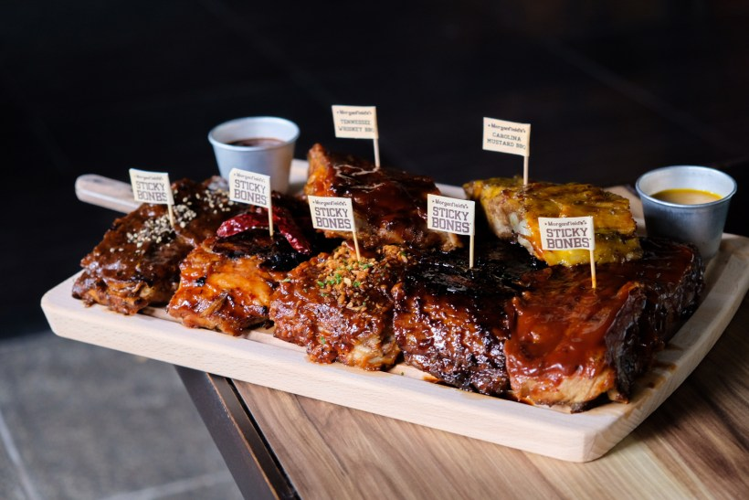 Total 7 BBQ Ribs Sauces