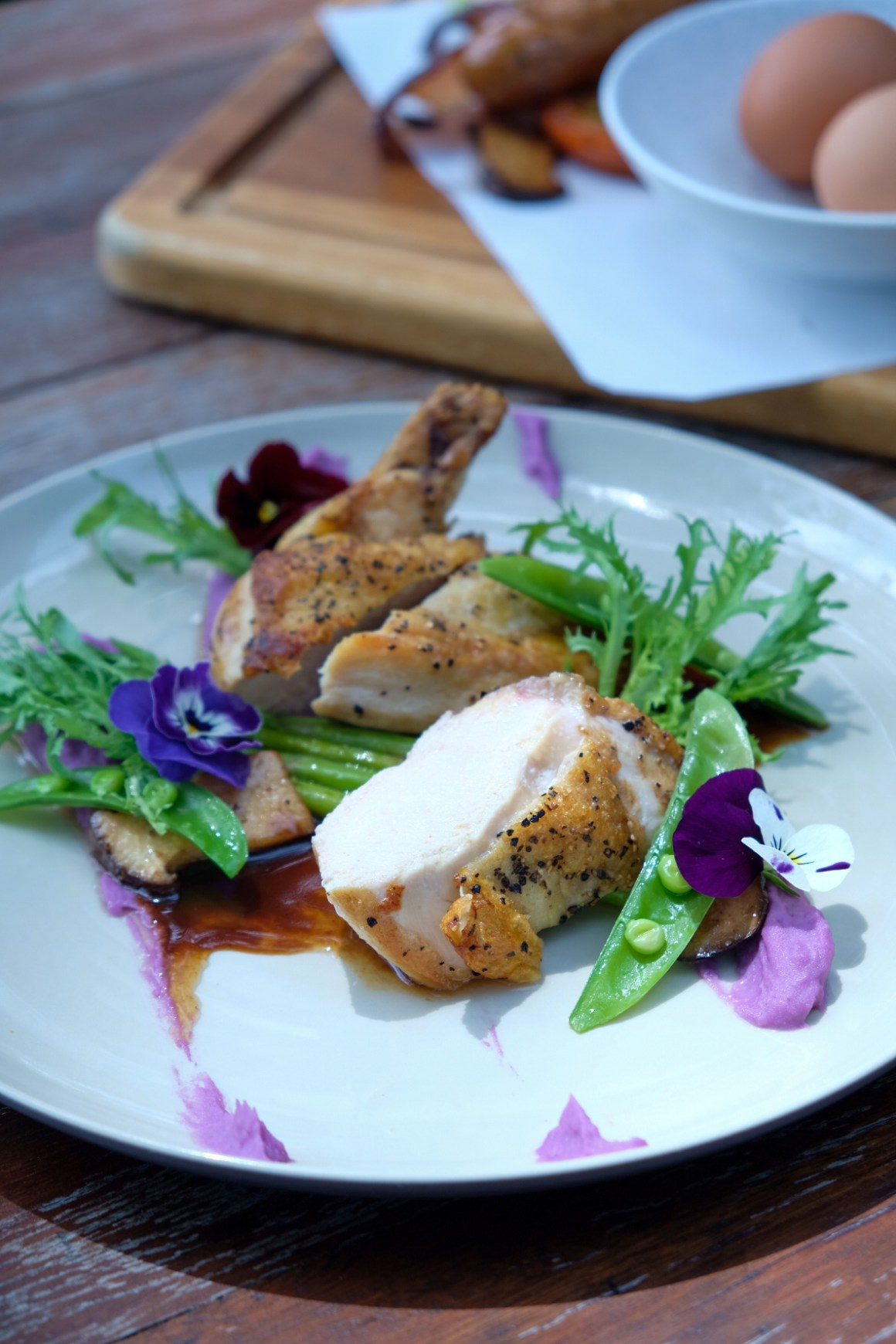 RedDot Brewhouse @ Dempsey, Dog-friendly - Pan Roasted Chicken Breast ($22)
