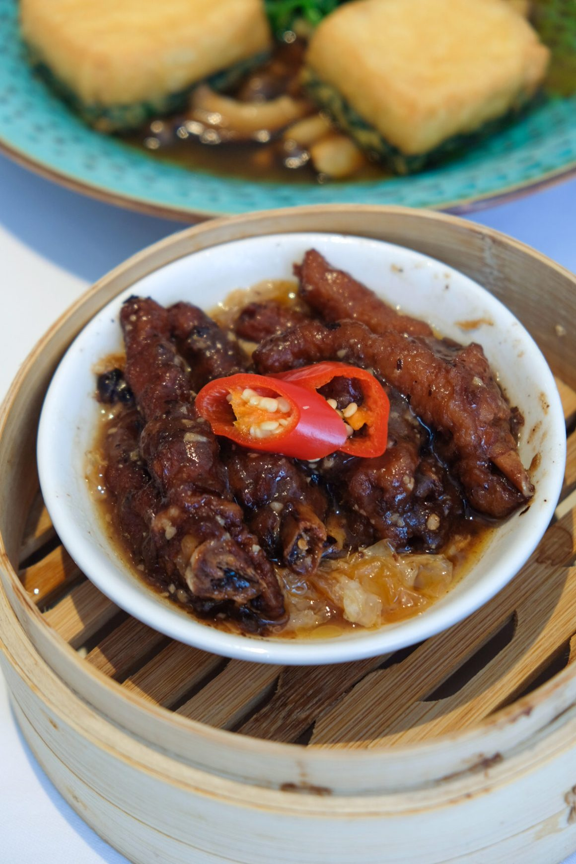 Chicken Feet with Black Bean and Chilli 豉椒鳳爪 ($6)