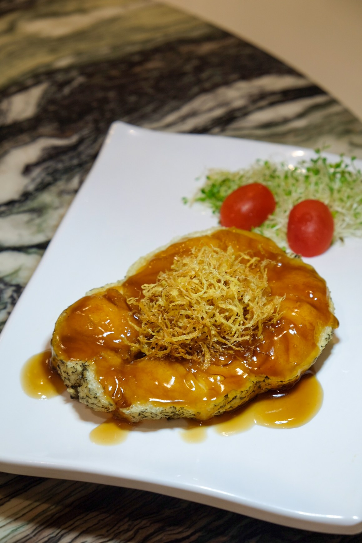 Pan-fried Cod with Specialty Sauce (Seasonal Price)