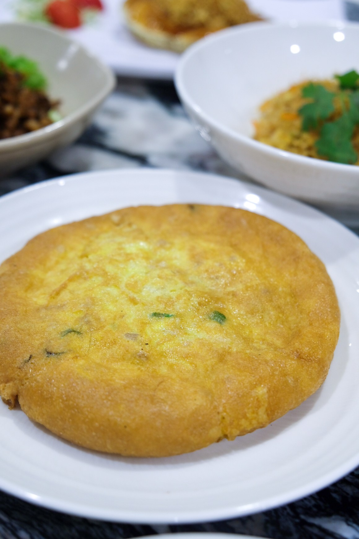 Omelette with Chye Poh ($11.80)