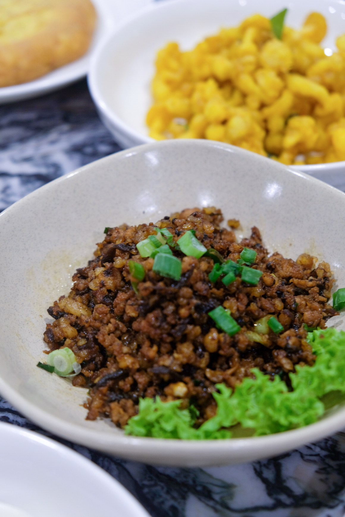 Goldleaf Restaurant Celebrates 48th Anniversary With $5.40 dishes - Fried Minced Pork with Olives