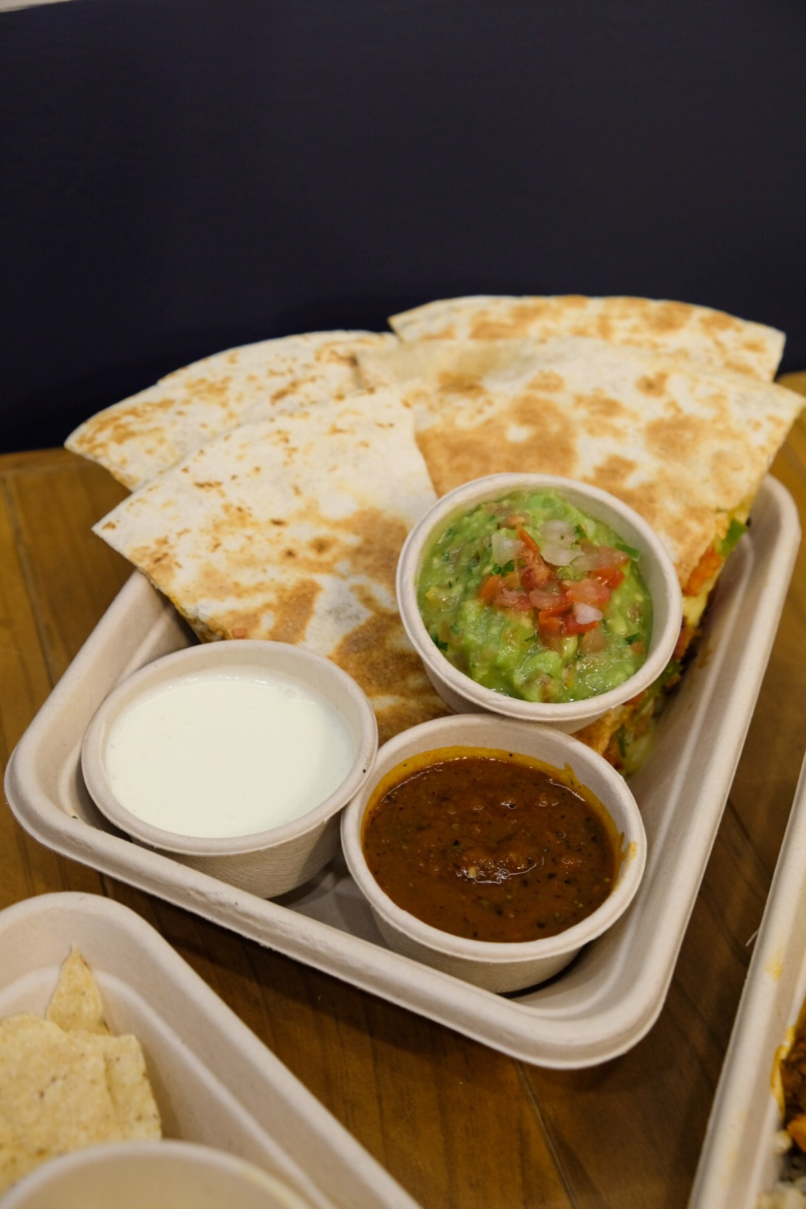 Mad Mex Mexican Food At MBFC Tower 3 - Quesadilla ($11.50 - regular)