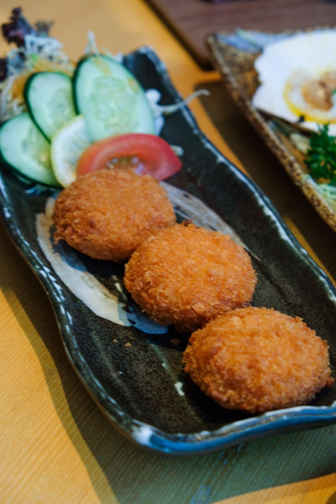 Sushi Tei's New Autumn Menu - Yoshoku Lobster Croquette ($6.90)