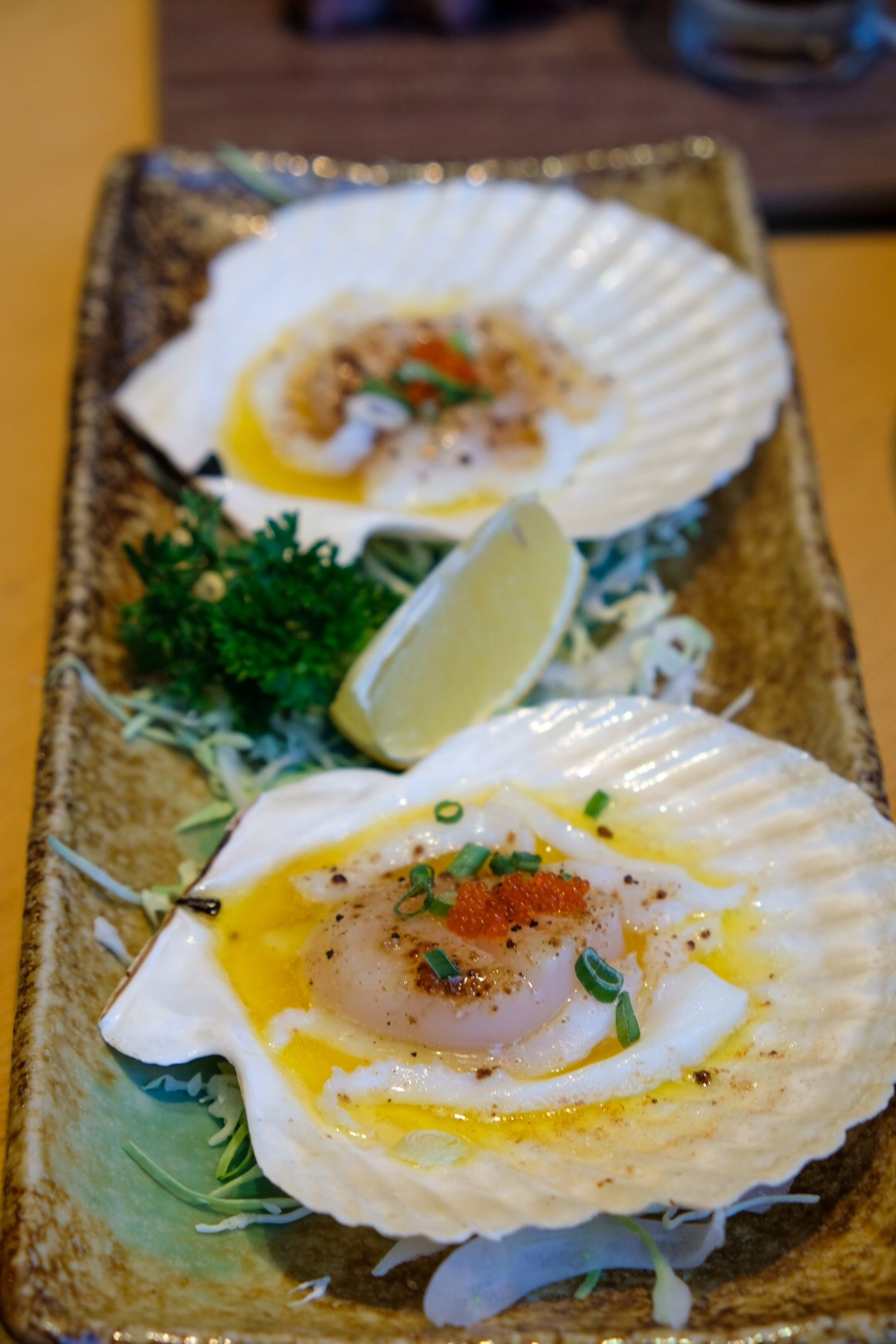 Sushi Tei's New Autumn Menu - Butter Scallop ($9.80)