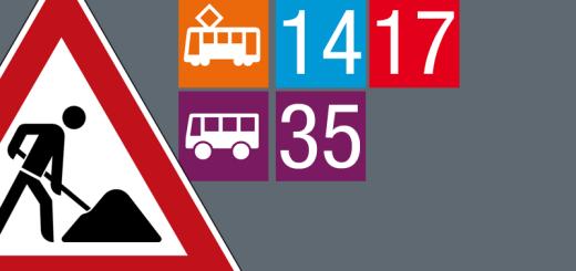 0705 22062018 Tram 12 19 Gleisbauarbeiten Im Bereich