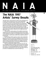 Newsletter #3 (Summer 1998)