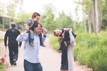 Noelia, Alf, Marc y Laia
