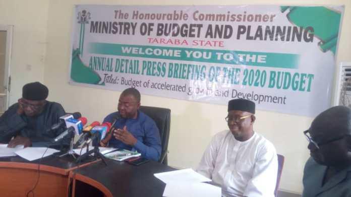 Covid-19: Taraba State Government cuts 2020 Budget