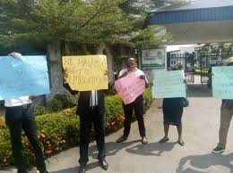 """Magistrates in C/River protest against 24 months of """"unpaid salaries"""""""