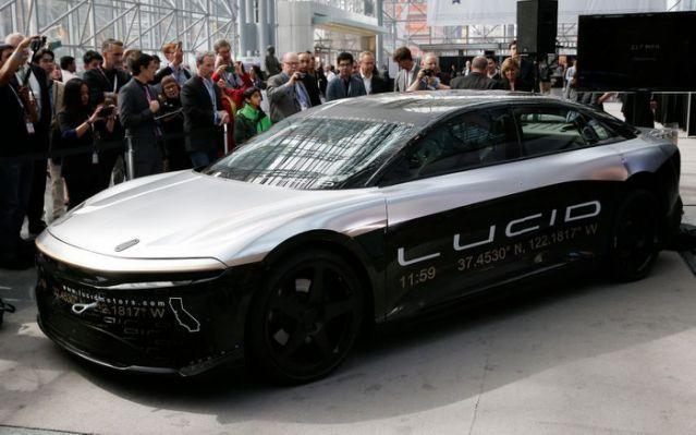 Tesla rival Lucid Motors to go public in $24-billion mega SPAC deal