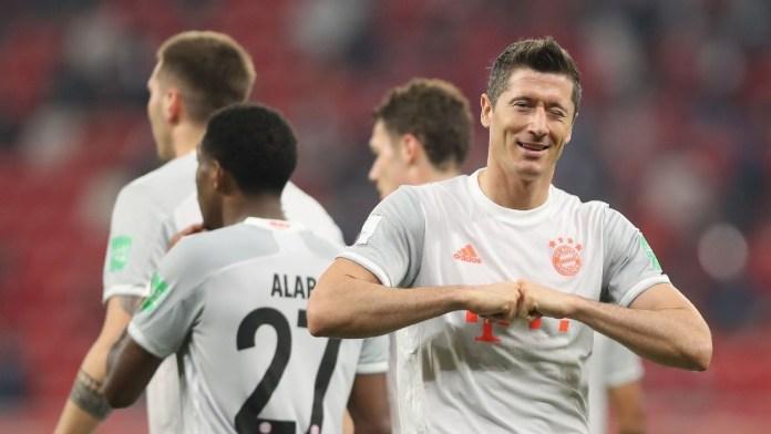 Lewandowski brace steers Bayern Munich into Club World Cup final