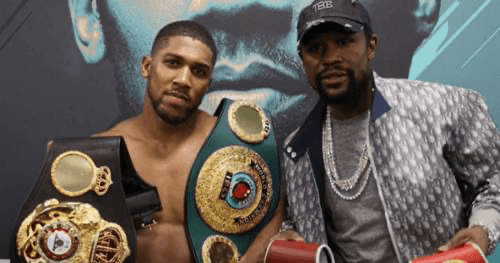 Floyd MayWeather to Train Anthony Joshua For Tyson Fury Mega-fight