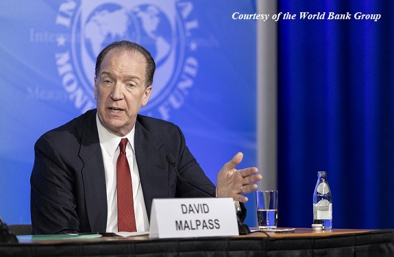 Time for world to move towards sustainable solutions- Malpass
