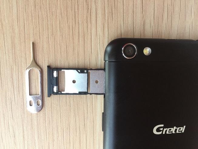 gretel a9 sim and microsd card tray
