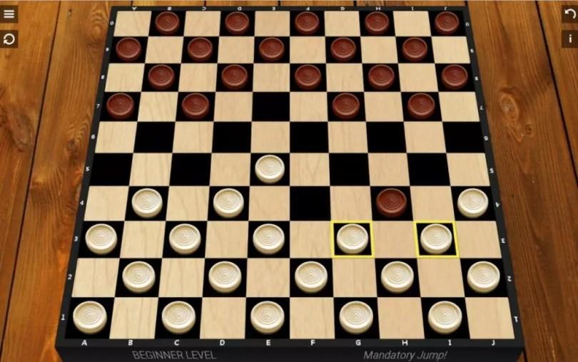 Chequer Board Game