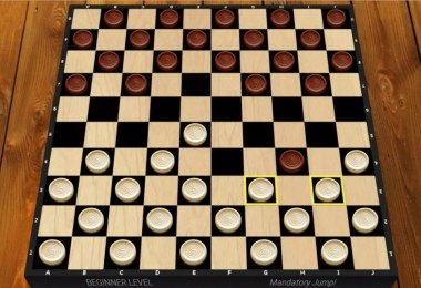 Chequer Board Game