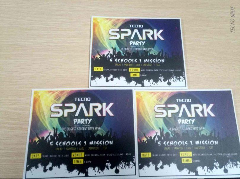 Tecno Spark Series Launch