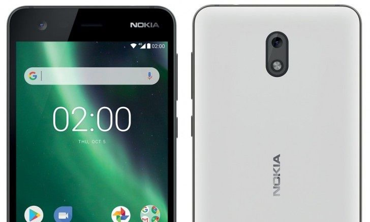 Nokia 2 renders leaked, 4000mAh battery tipped