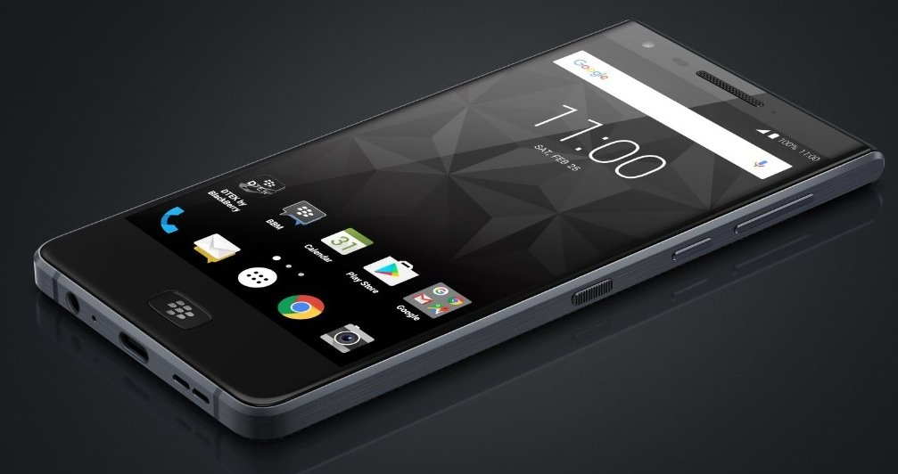 BlackBerry Motion image leaked; shows big screen and 3.5mm jack